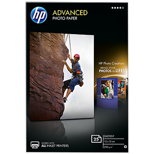 HP Advanced Glossy Photo Paper -  Q8691A