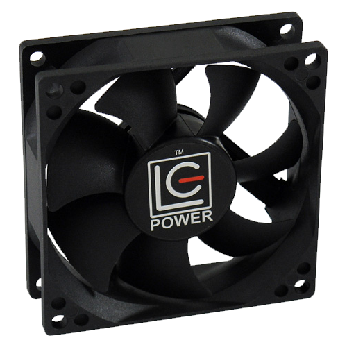 LC-POWER ventilator LC-CF-80 (Crni)