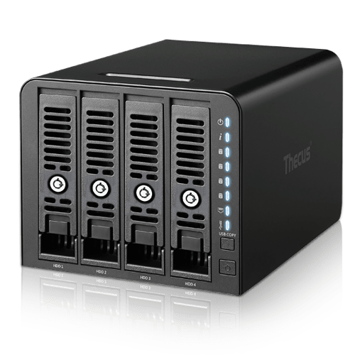 THECUS Linux NAS Storage Server N4350