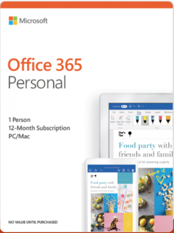 Microsoft Office 365 Personal QQ2-00880